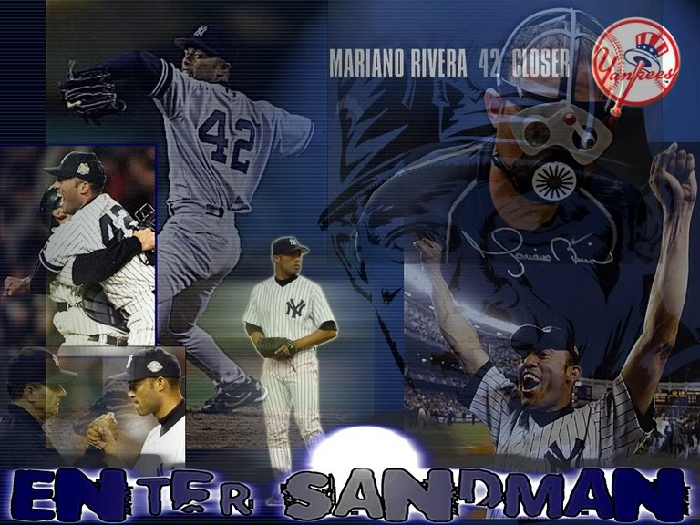 Thread: New Mariano Rivera Wallpaper I made.