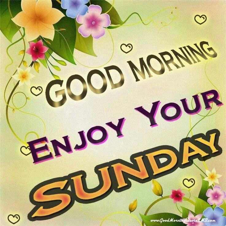 Good morning sunday wallpaper download hd