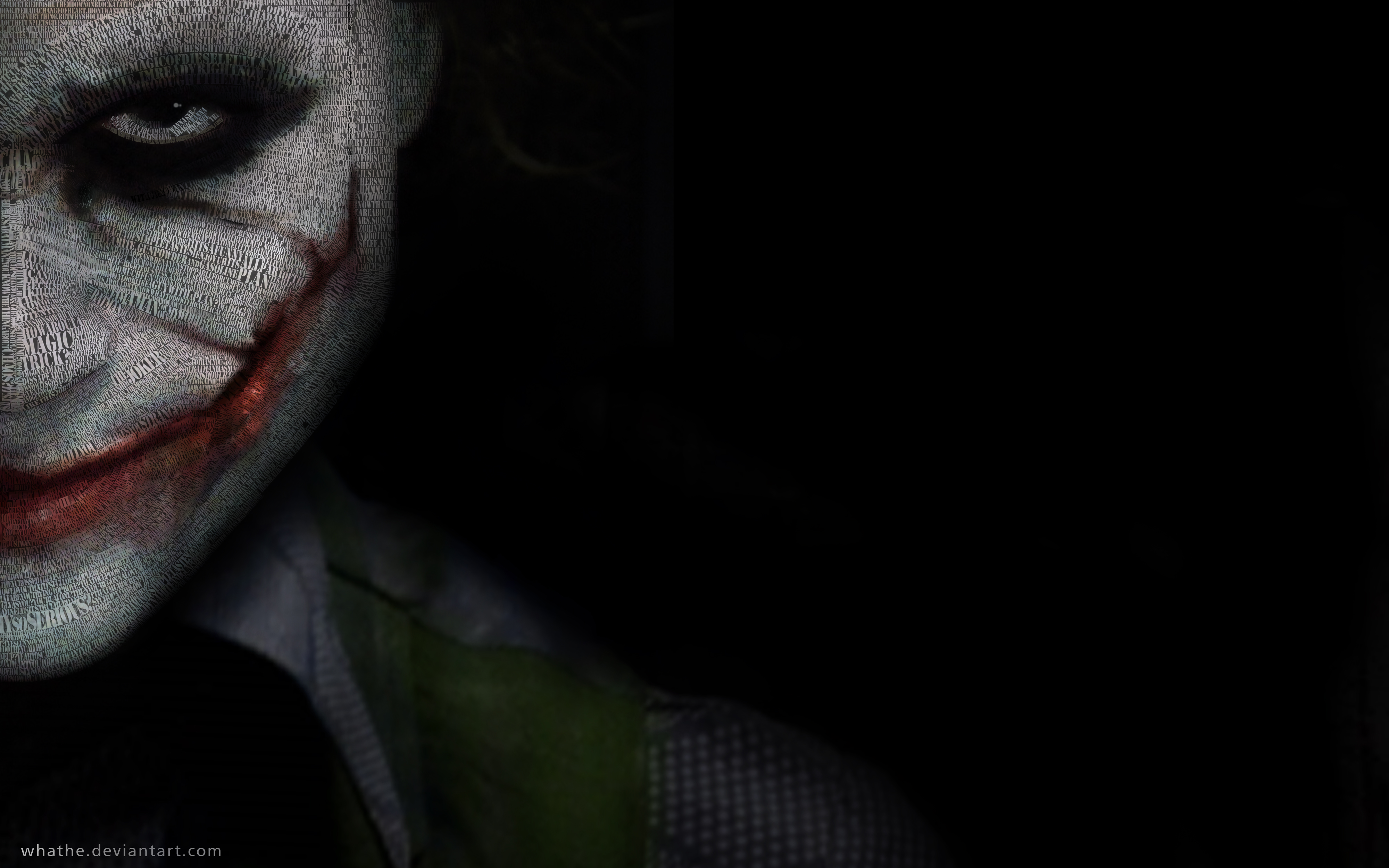 Joker Dark Knight wallpaper 50609 4000x2500
