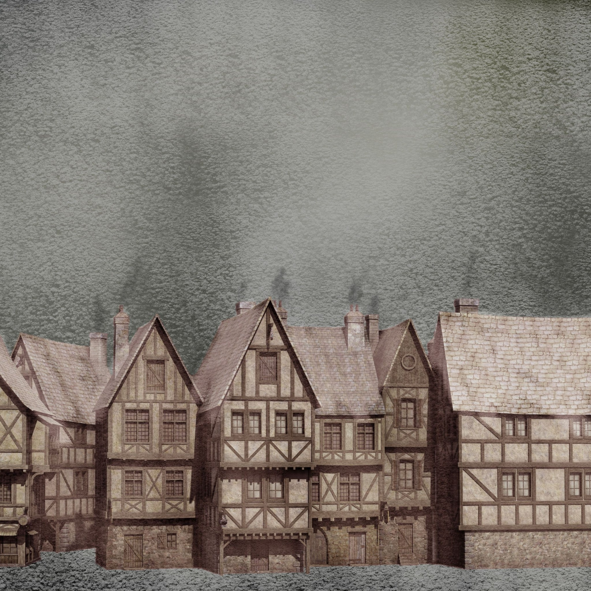 Oliver Twist Snow In The Old Town BestWallSitecom 2048x2048