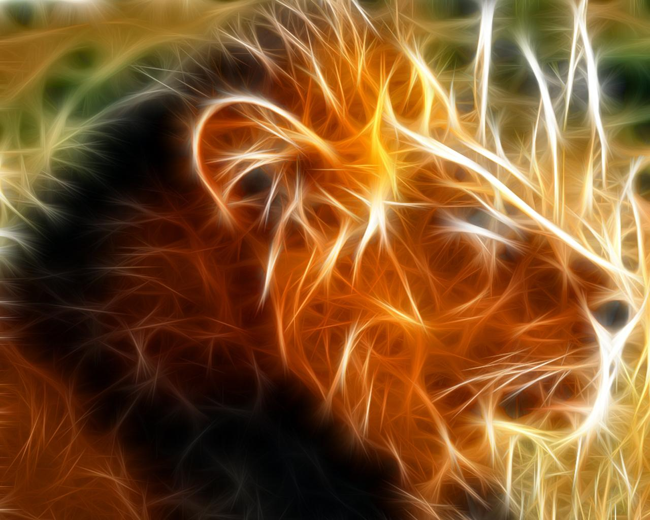 3d Abstract Animal Wallpapers