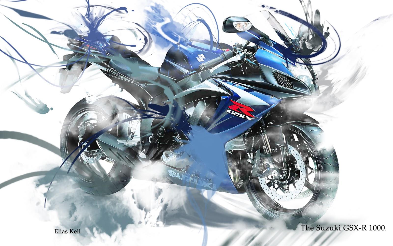 Luusama Motorcycle And Helmet Blog News Suzuki GSX R1000 Animation 1600x1000