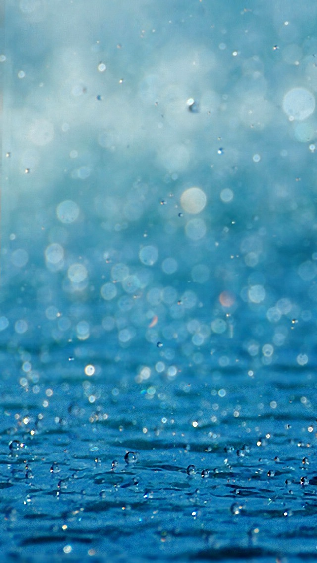 49 Iphone Raindrops Wallpaper On Wallpapersafari