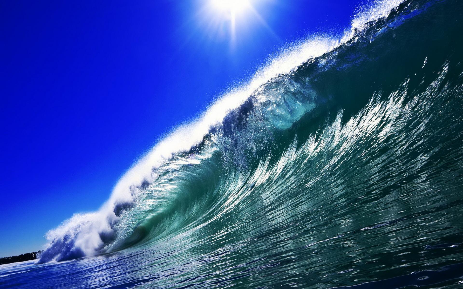 High Definition Wallpapers High: HD Wave Wallpaper