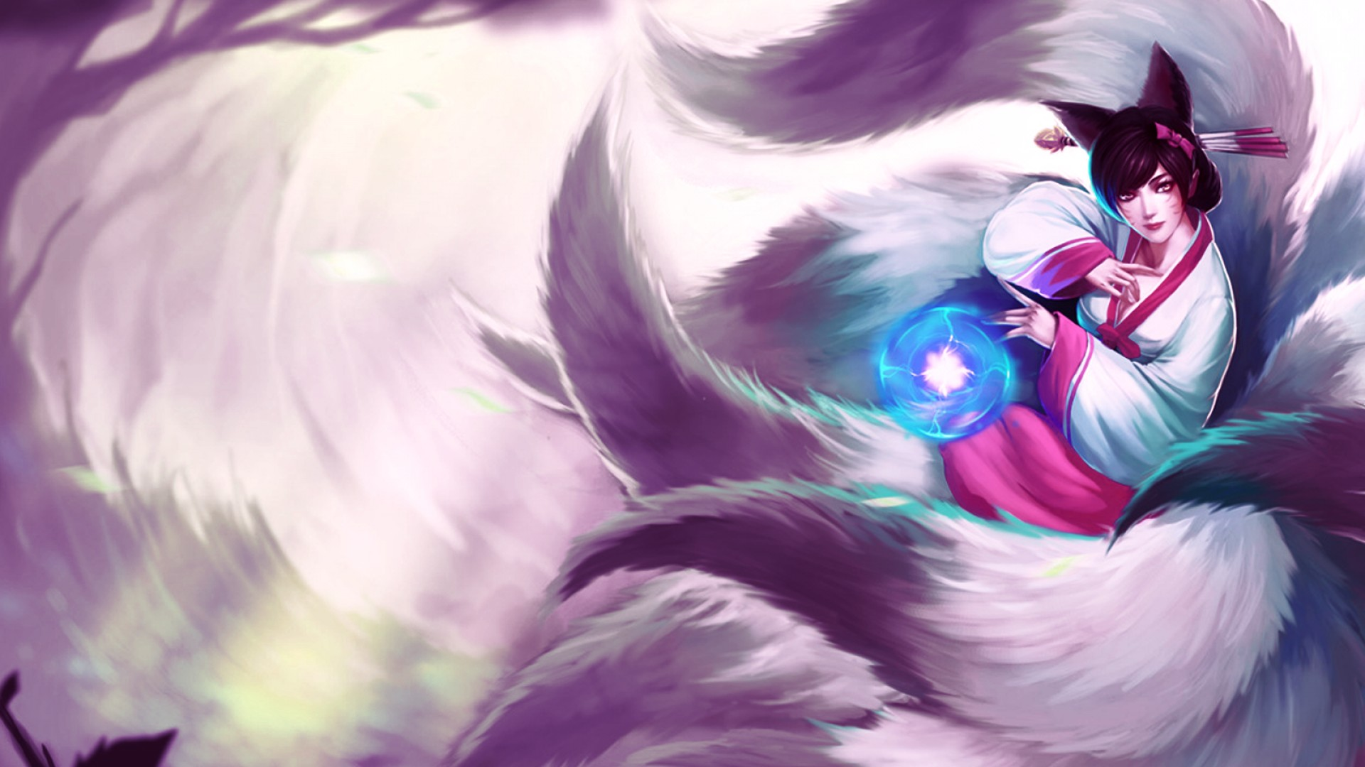 Video Game League Of Legends Sona Ahri Hd Wallpaper Background