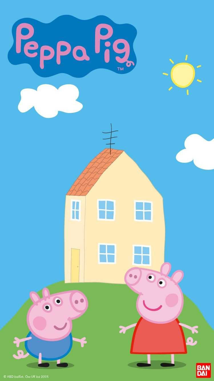 Peppa Pig House Wallpaper   EnJpg 750x1334