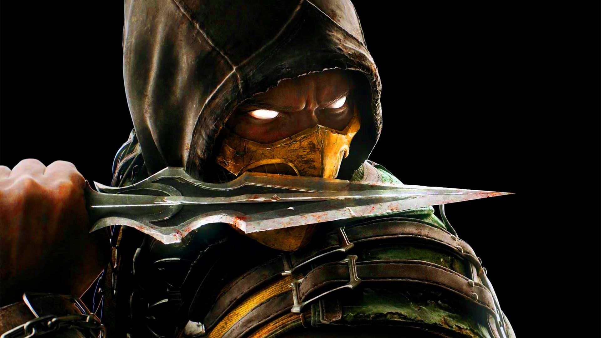 Mortal Kombat X Scorpion With Knife 1920 x 1080 Download Close 1920x1080