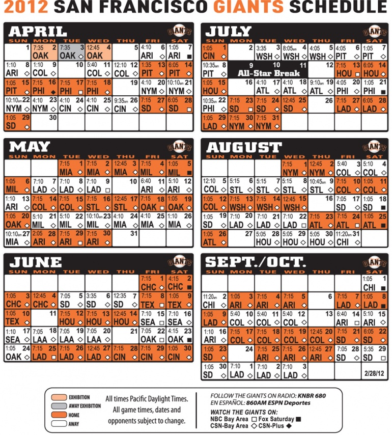 san francisco giants schedule 2012 5jpg 770x854