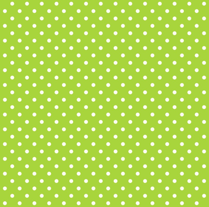 wallpaper non woven dots green white Everybody Bonjour 137005 809x800