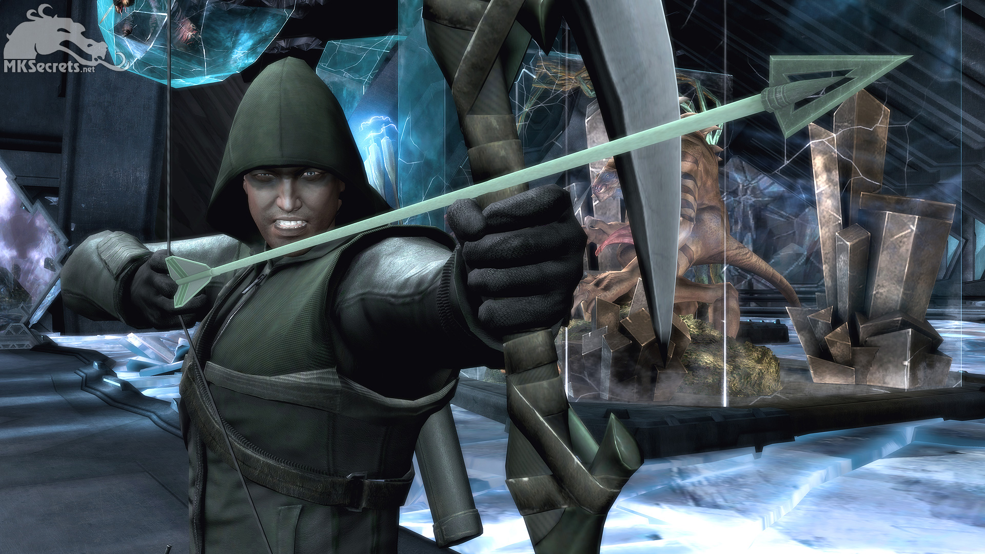 Injustice Gods Among Us Wallpaper Green Arrow 1920x1080