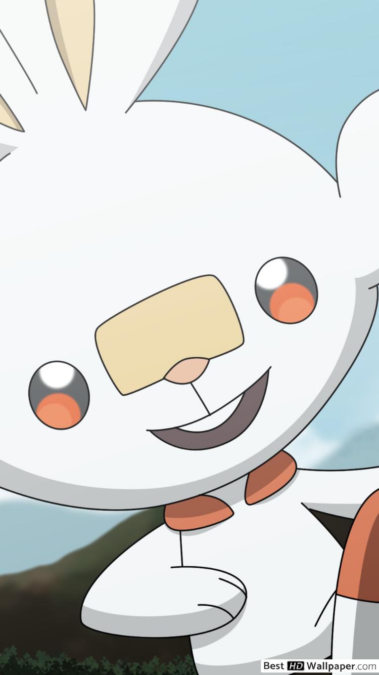 Free Download Pokemon Sword And Shield Scorbunny Pokemon Hd