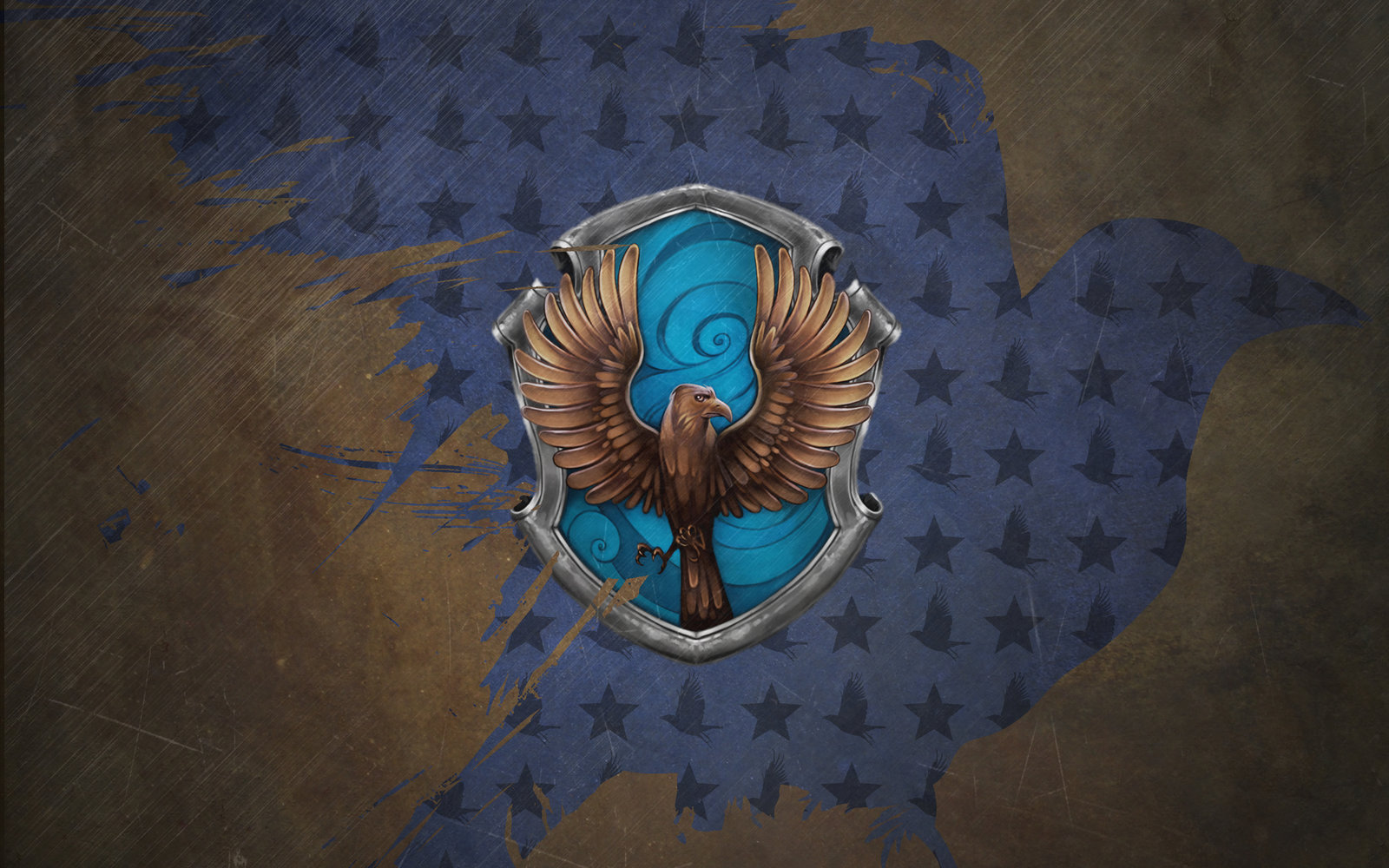Ravenclaw wallpaper by Clover the Clever 1600x1000