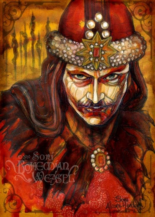 Vlad the Impaler Wallpaper Wallpapers Desktop Wallpapers HD 522x730