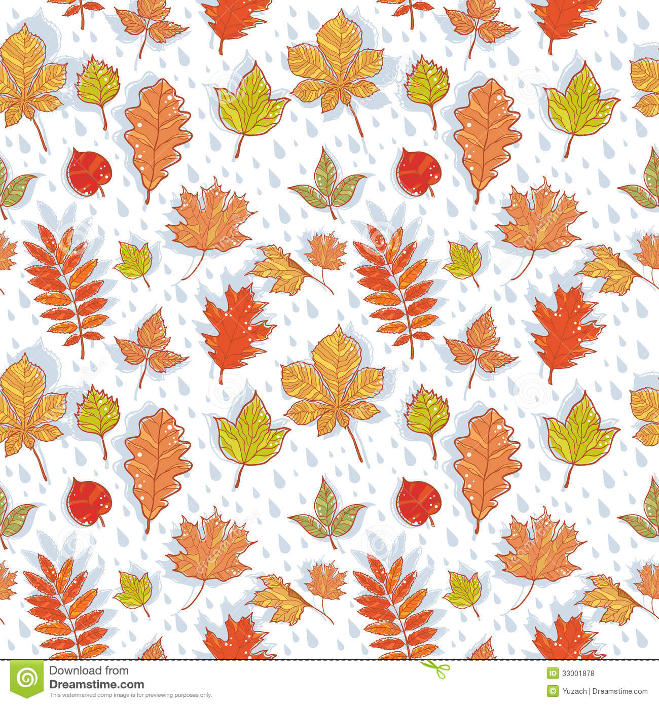 - Free Download Fall Leaf Pattern Background Autumn Leaves Colorful