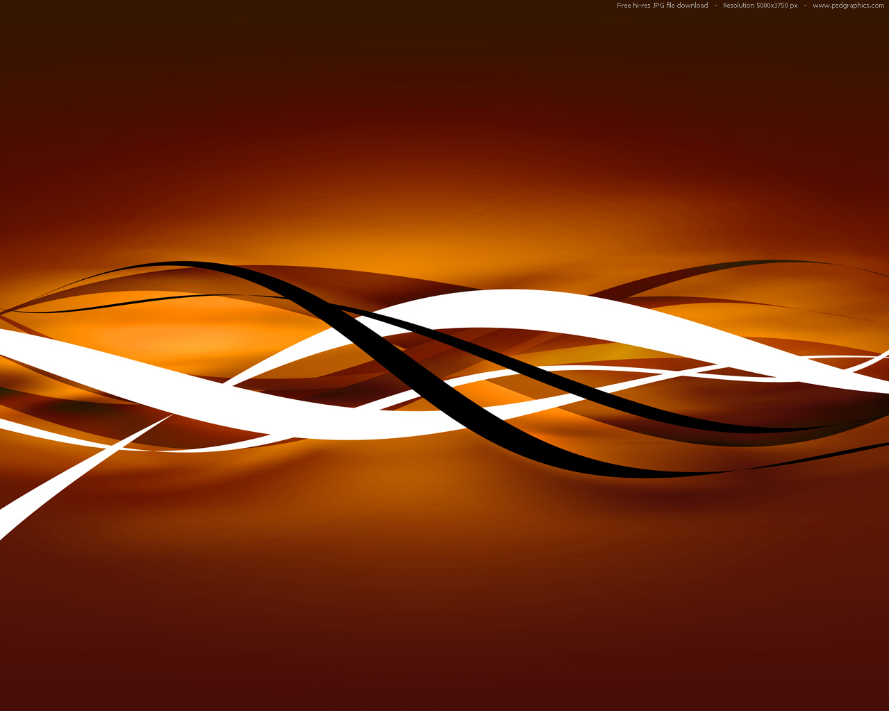 Cool Orange Backgrounds 1280x1024