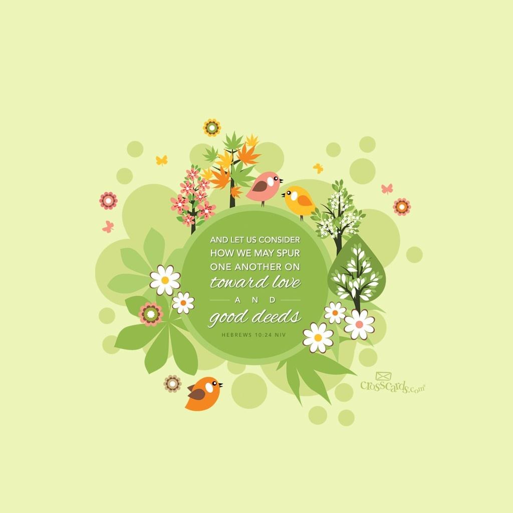April 2016   Good Deeds Desktop Calendar  April Wallpaper 1024x1024