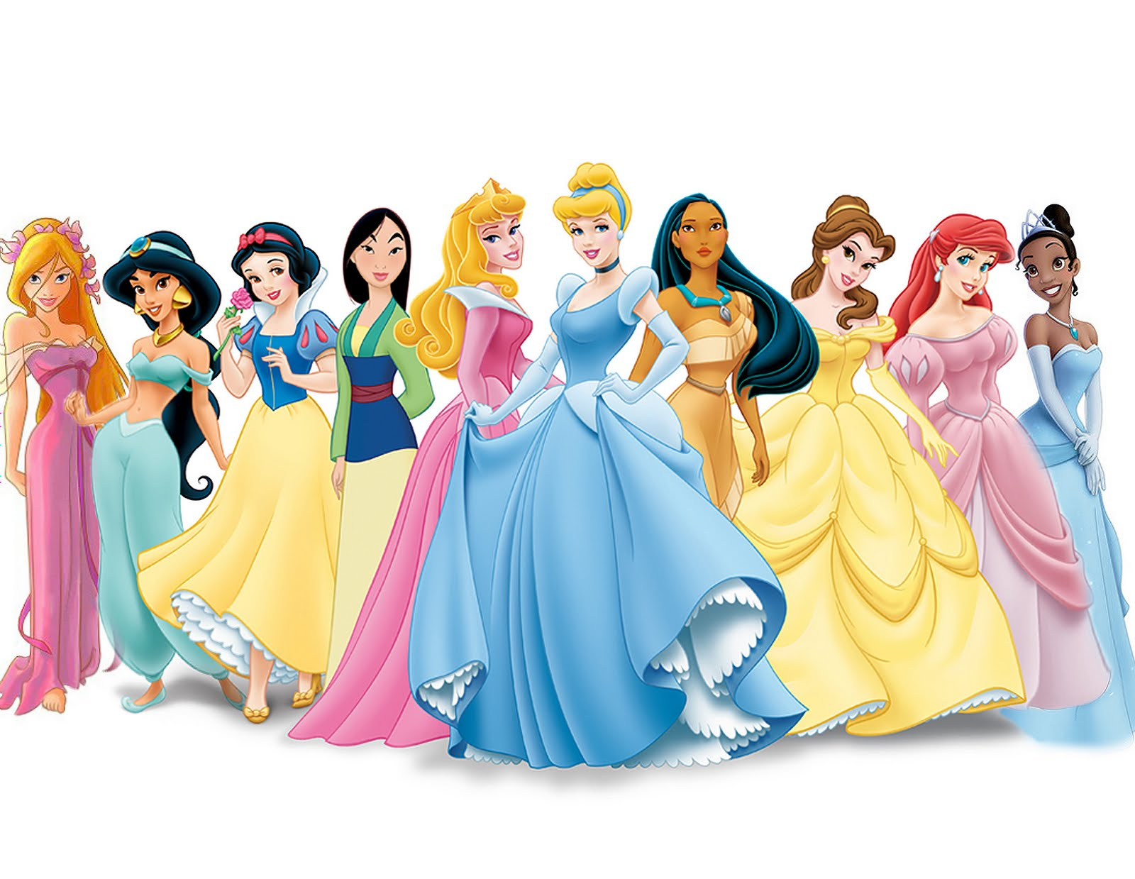 Disney Princesses Wallpaper Disney Desktop Wallpaper 1600x1239