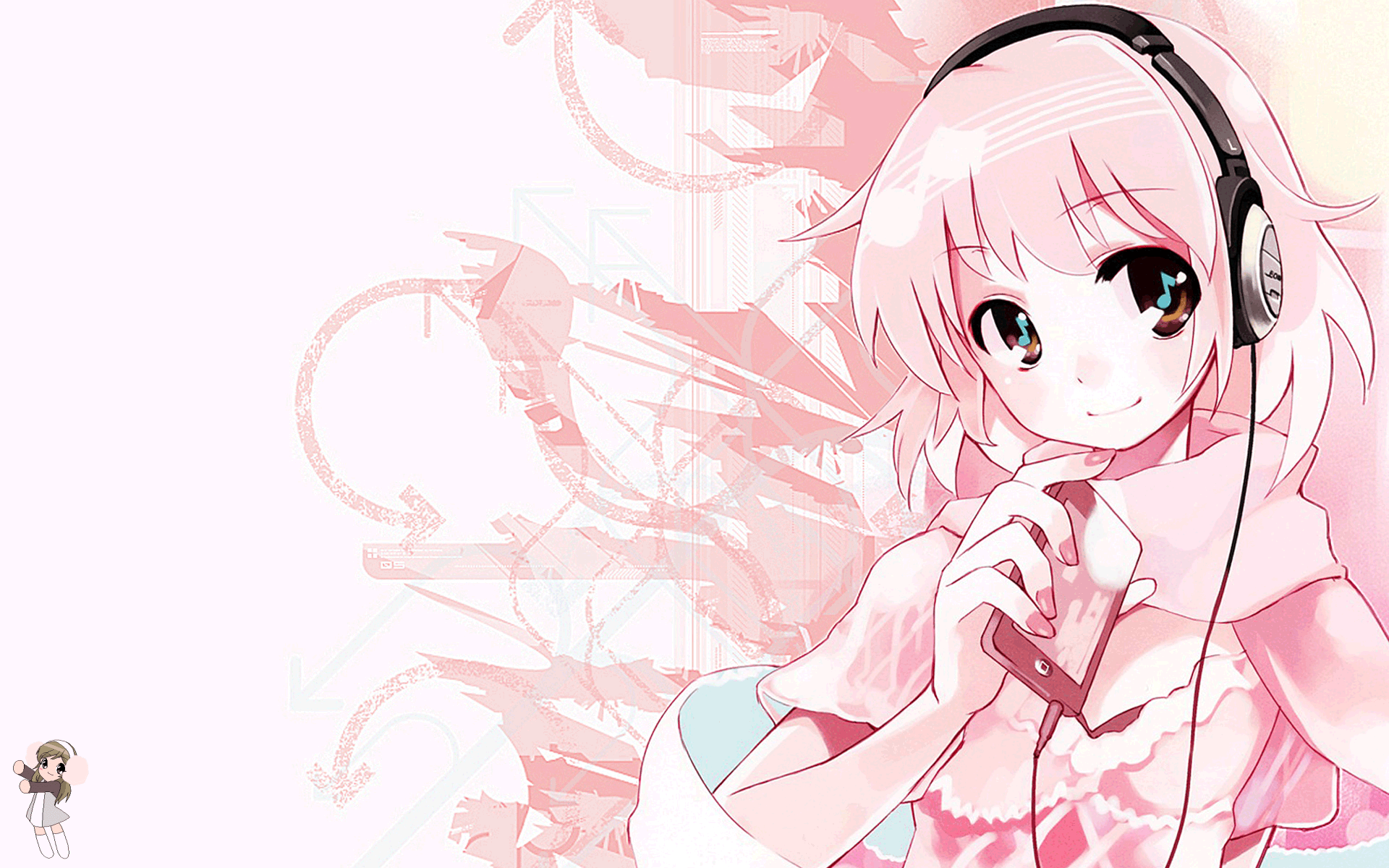 Pink Anime   Wallpaper 37413 1920x1200
