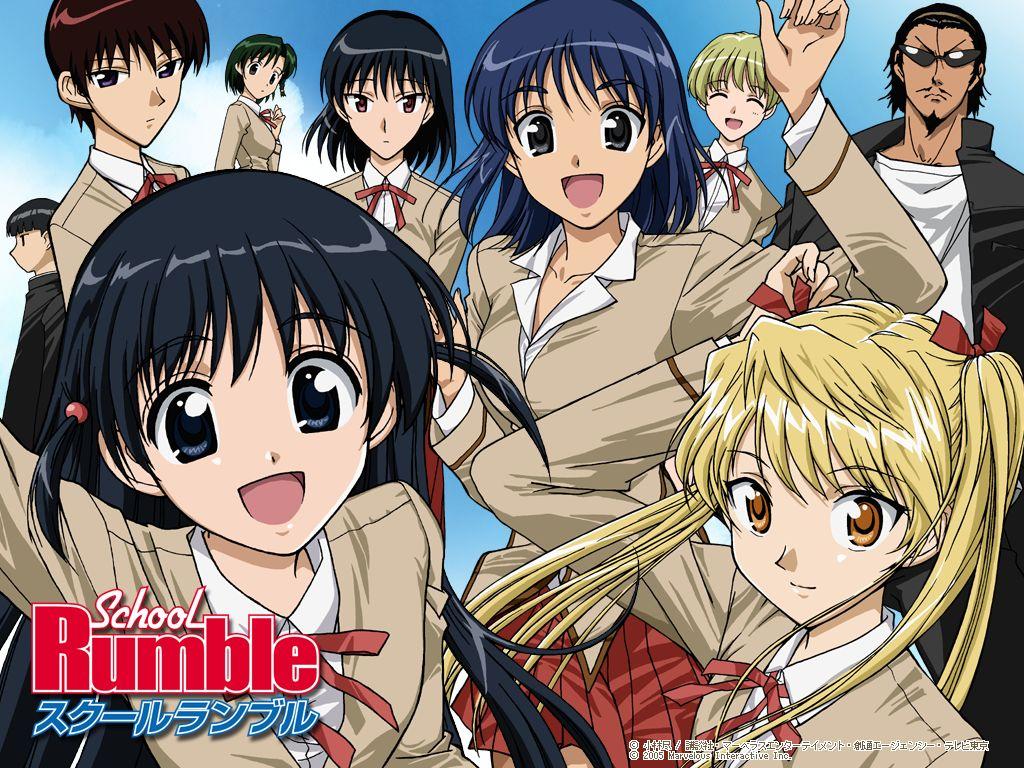 School Rumble 1024x768