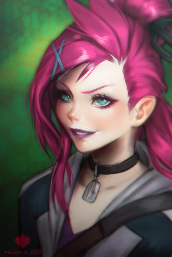 FANART] Slayer Jinx by Valkymie 605x900