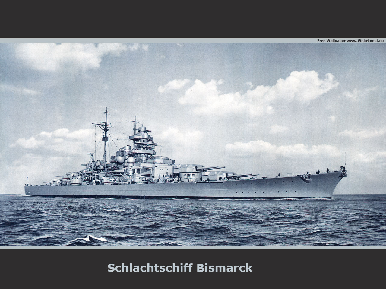 German Battleship Bismarck by achmedthedeadteroris 1280x960