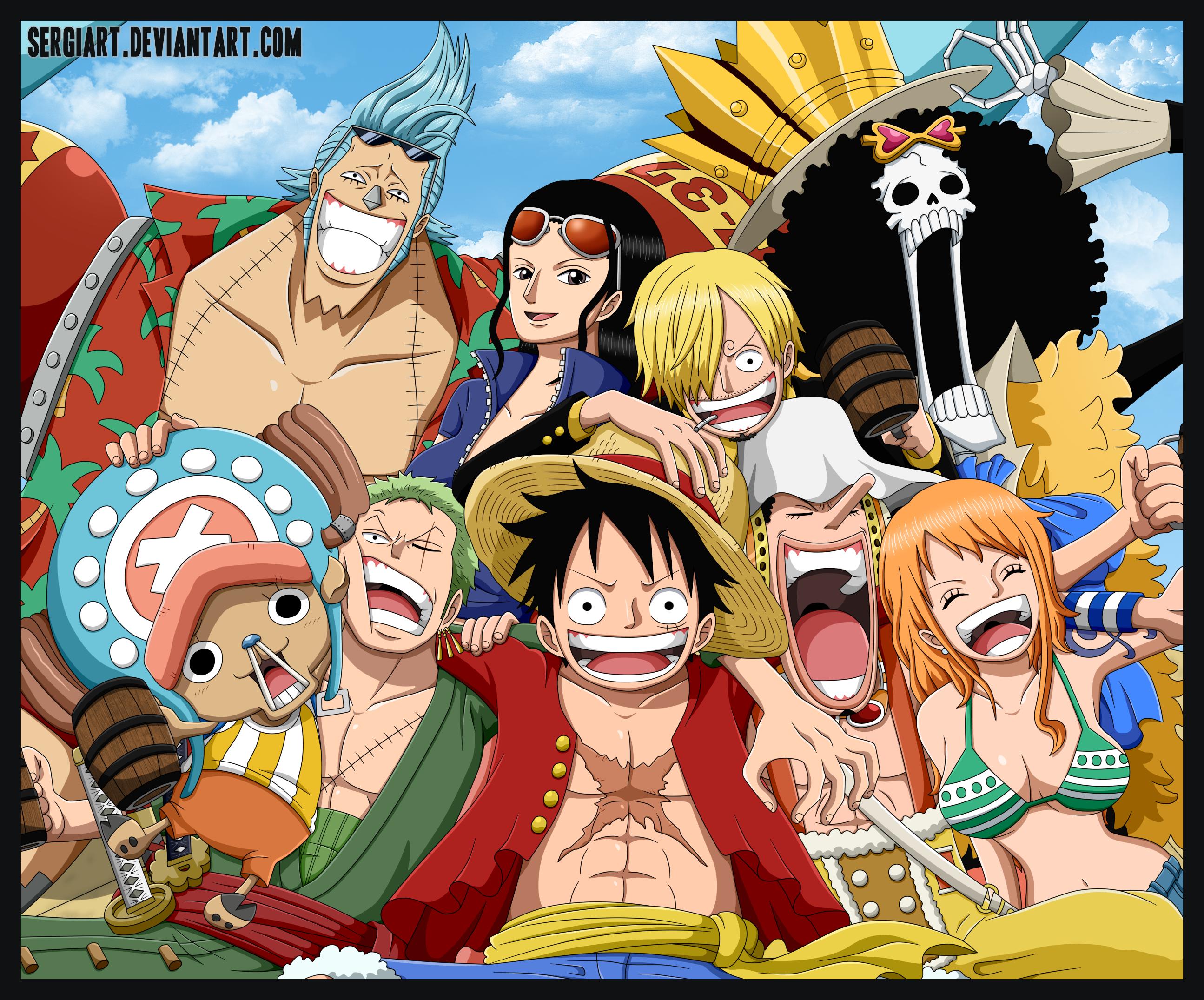 75 One Piece Crew Wallpaper On Wallpapersafari
