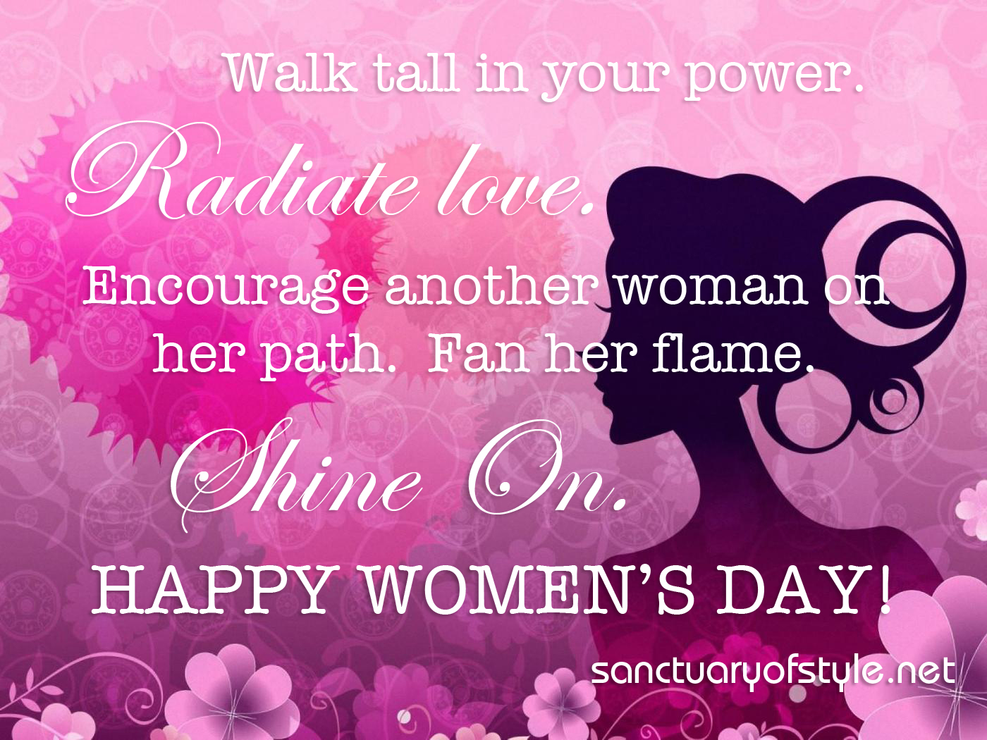 womens day wallpaper 2 copy SANCTUARY OF STYLE 1400x1050