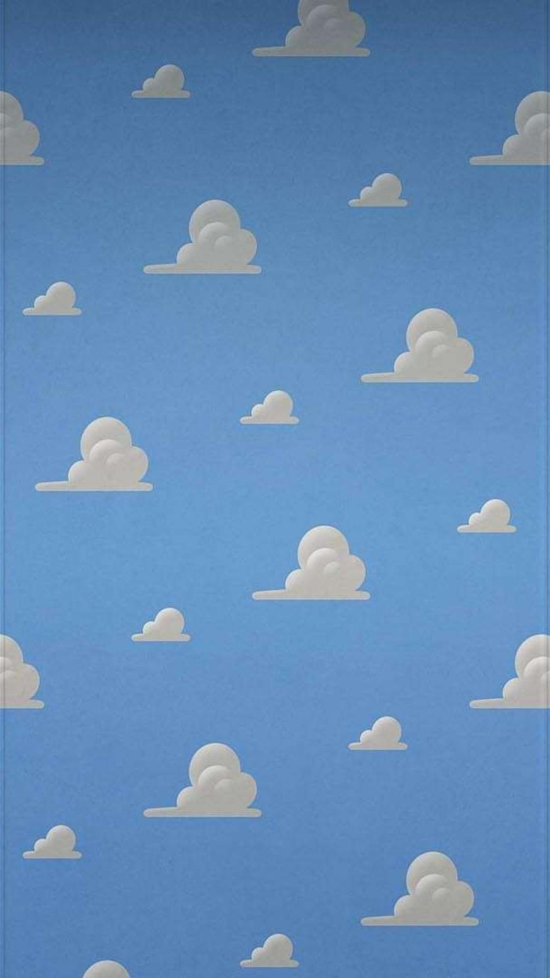 Free Download Clouds Toy Story Bedroom Wallpaper 54974 1080x1920
