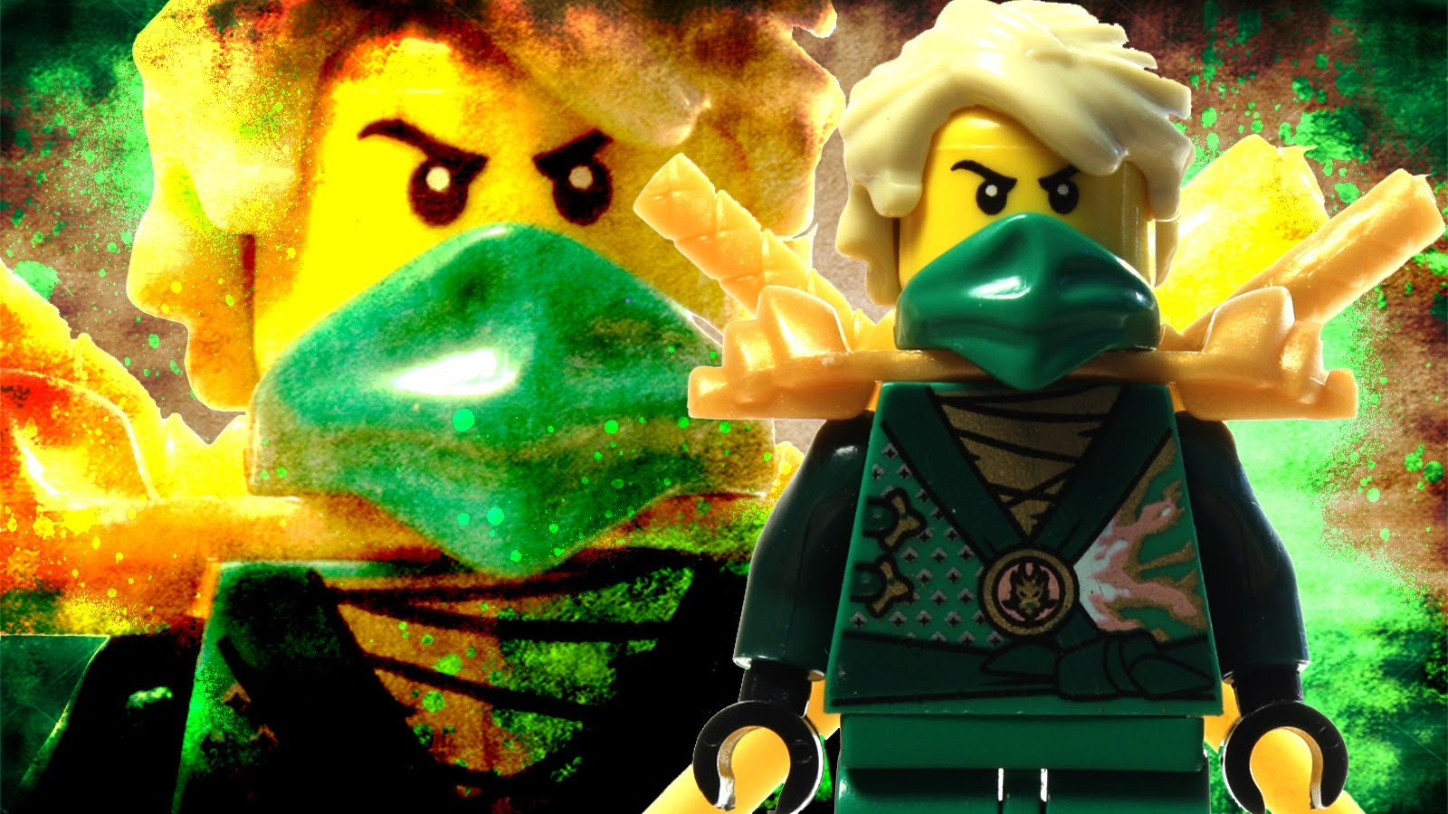 Group Of Lego Ninjago Desktop Wallpaper