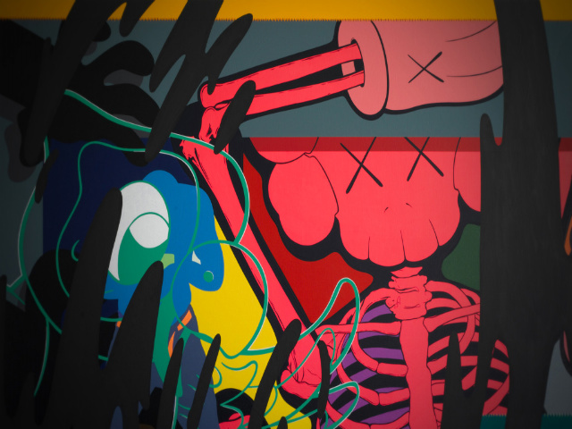 KAWS Wallpapers Graffiti KAWS HD Wallpapers Graffiti KAWS 640x480