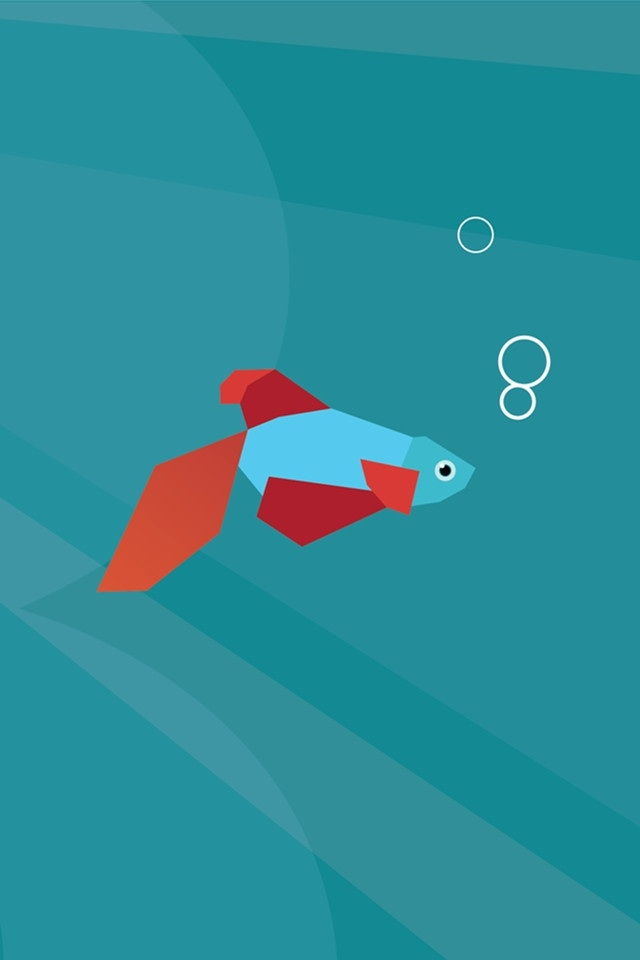 iphone 4 hd vector fish default iphone 4 wallpapers backgrounds 640x960
