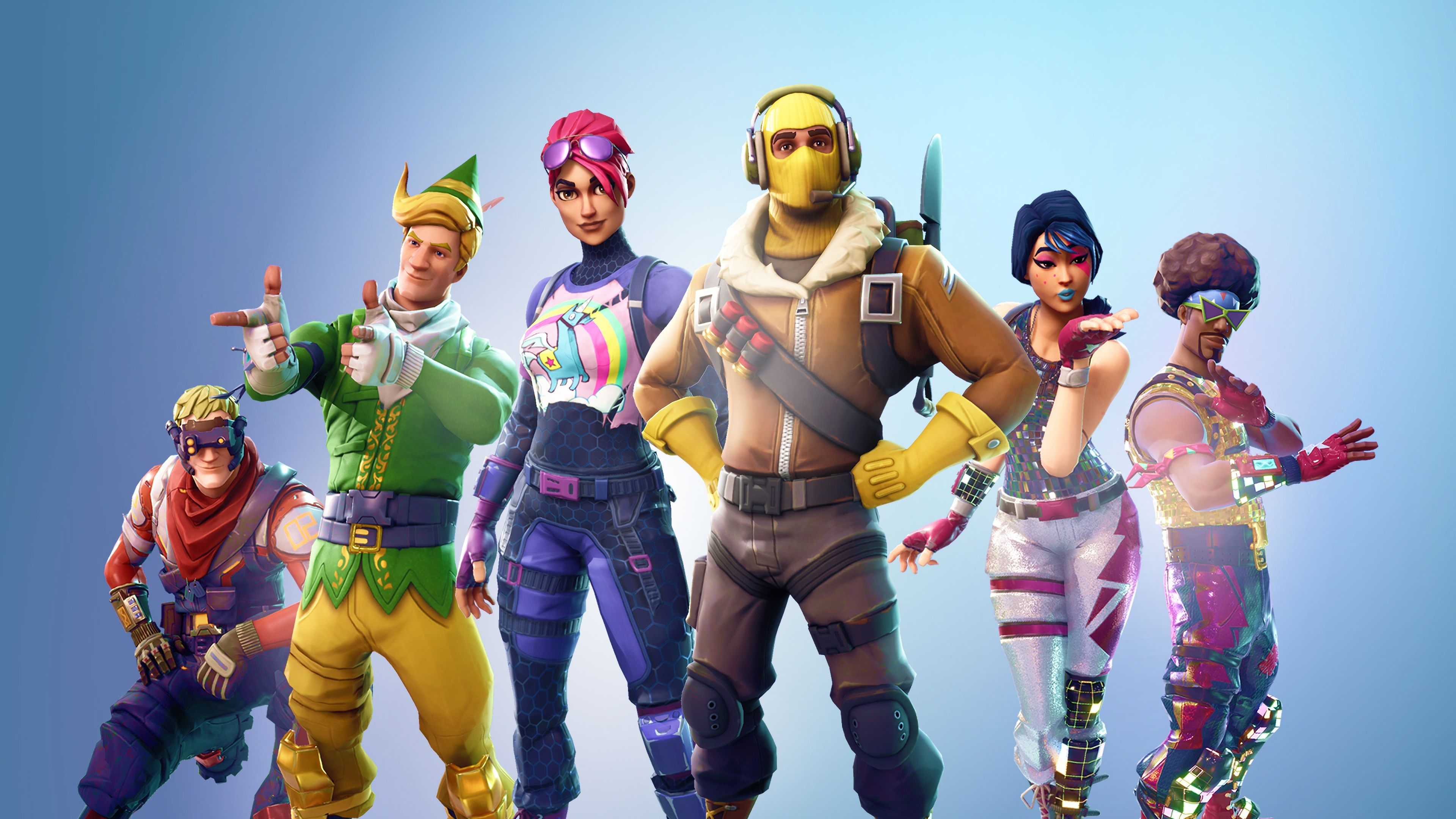 Fortnite Battle Royale Outfits Raptor Brite Bomber Sparkle 3840x2160