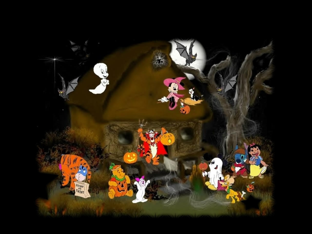 Disney Halloween Wallpapers Halloween Movie Wallpapers scary 1280x960