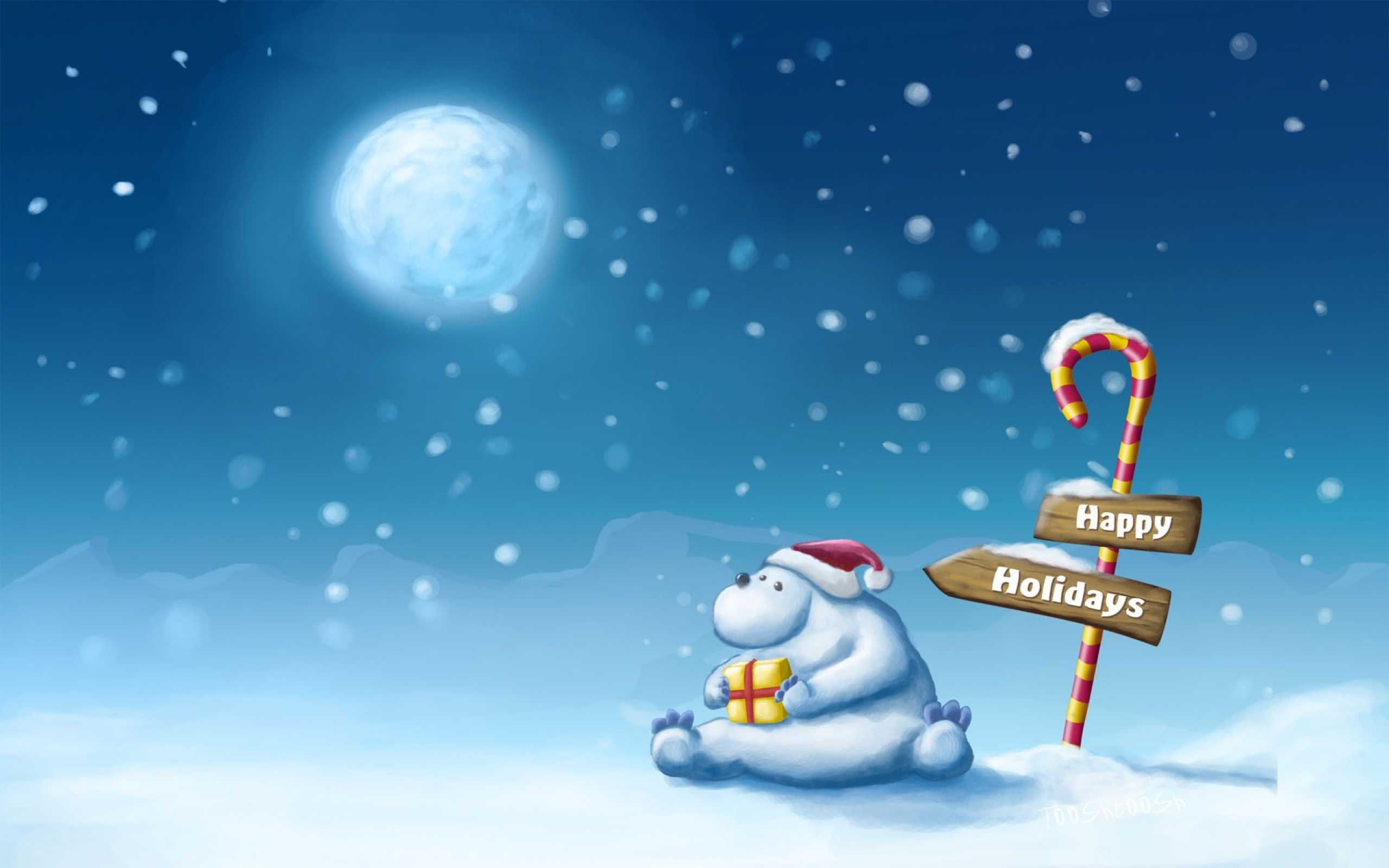 5 North Pole HD Wallpapers Background Images 2560x1600