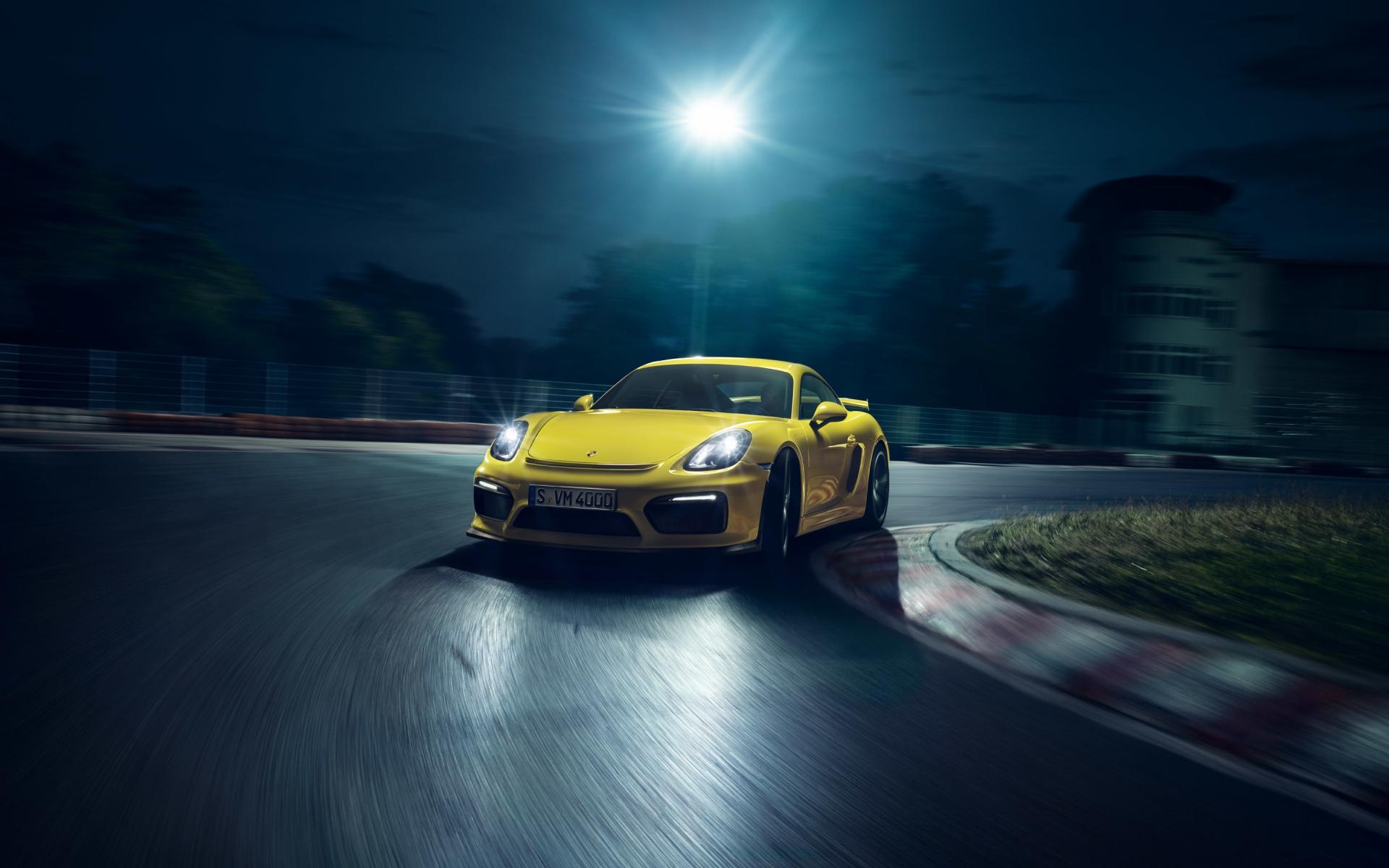 Cayman Gt4 Wall Paper: Porsche Cayman Wallpaper