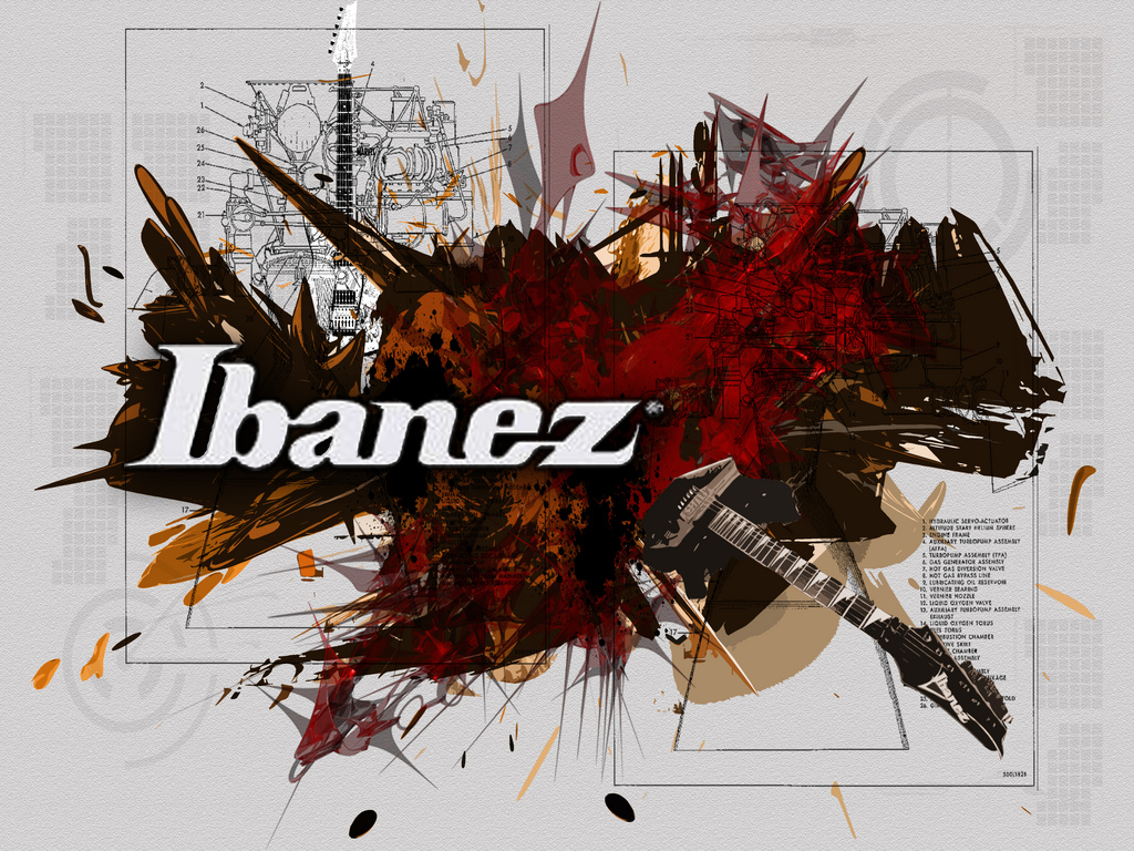 Ibanez Guitar Wallpapers For Desktop Ibanez Logo Campaign 1024x768