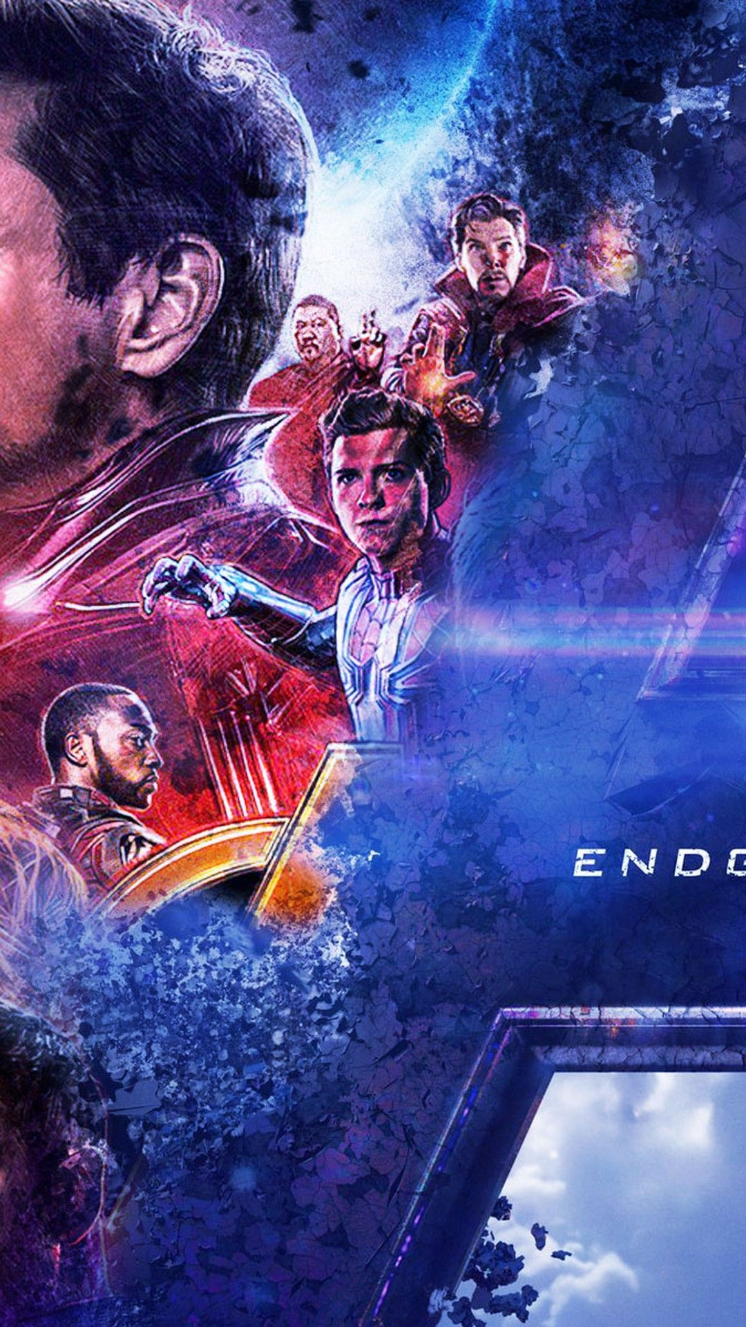 Marvel Endgame Background in 2020 Android wallpaper Hd 1080x1920
