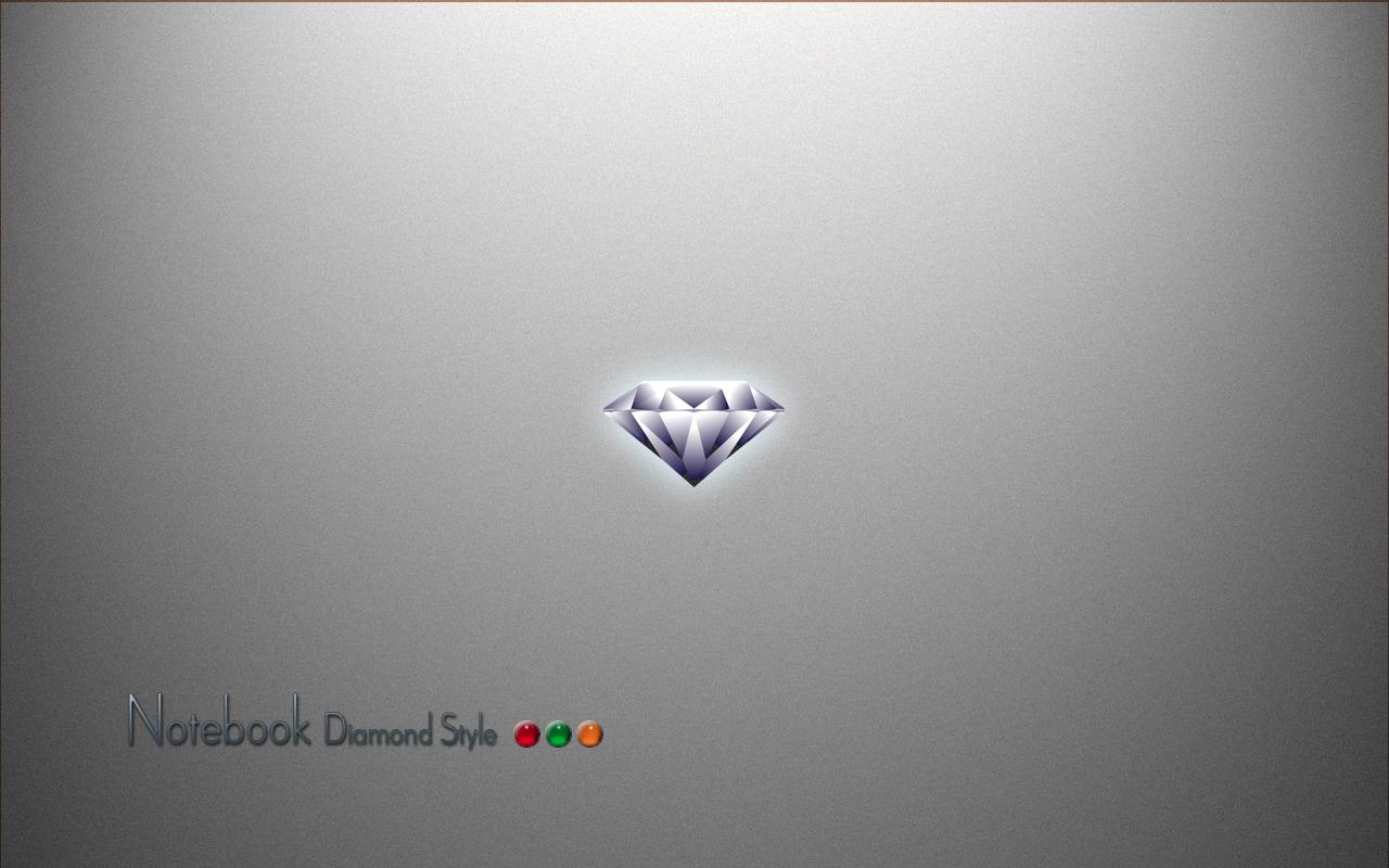 Computer wallpaper windows wallpaper Notebook diamond style 1280x800