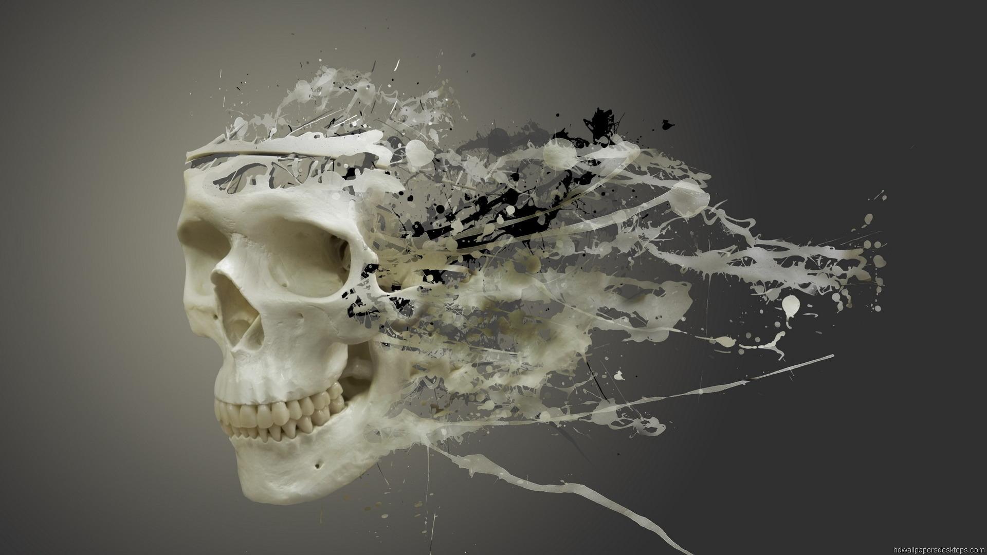 Skull 3d Wallpaper: 3D HD 1920x1080 Desktop Wallpapers