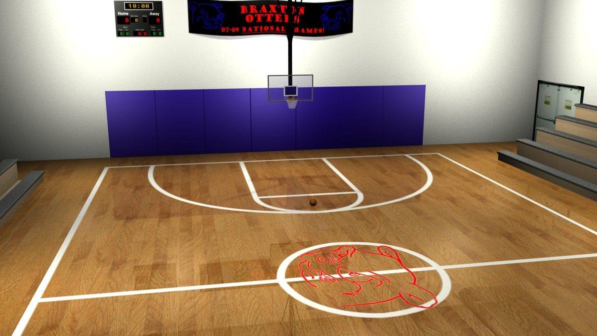 Basketball court wallpapers wallpapersafari - Court wallpaper ...
