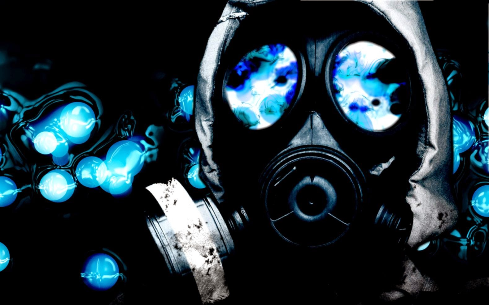 17300 cool gas mask wallpapers 1579x987
