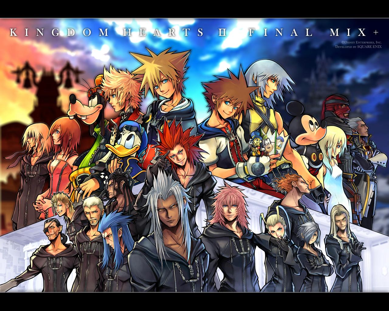 Kingdom Hearts Wallpaper PSP Gear   PSP Games Download 1280x1024