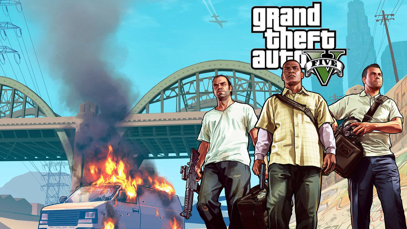 Wallpaper Gta V Hd 1080P 11 HD Wallpapers 1366x768