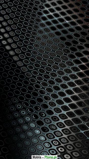 Black steel wall Mobile Wallpaper Details 360x640