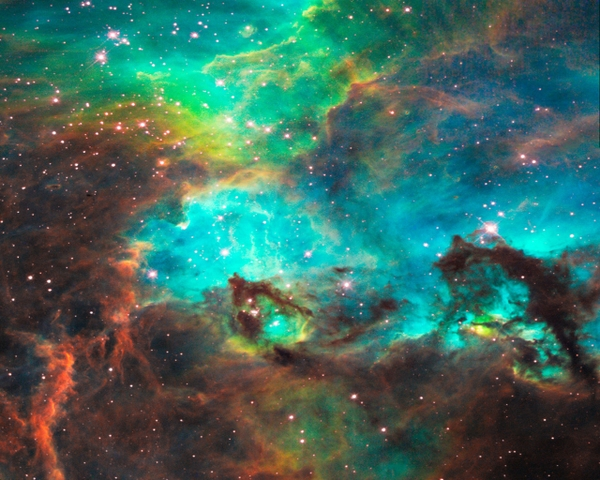 Outer space galaxy wallpaper wallpapersafari for Galaxy nebula fabric