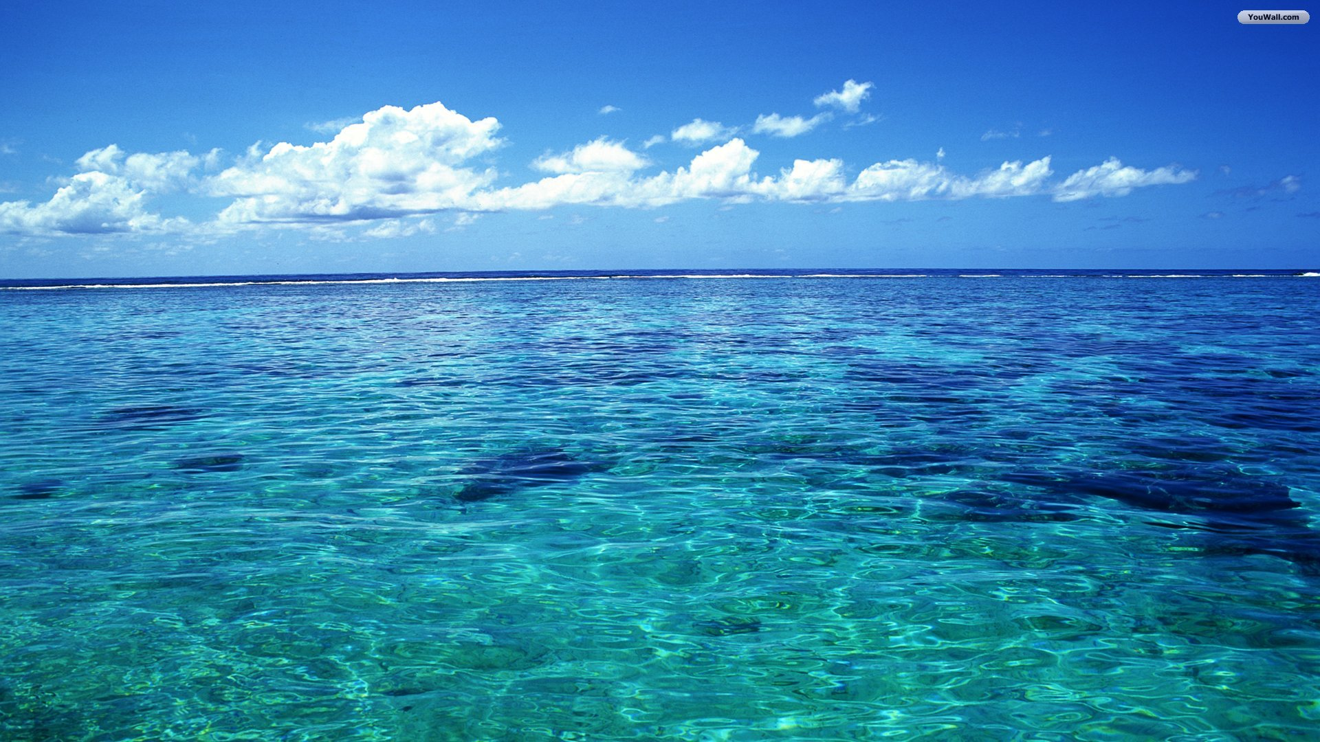 YouWall   Tahiti Ocean Wallpaper   wallpaperwallpapersfree wallpaper 1920x1080