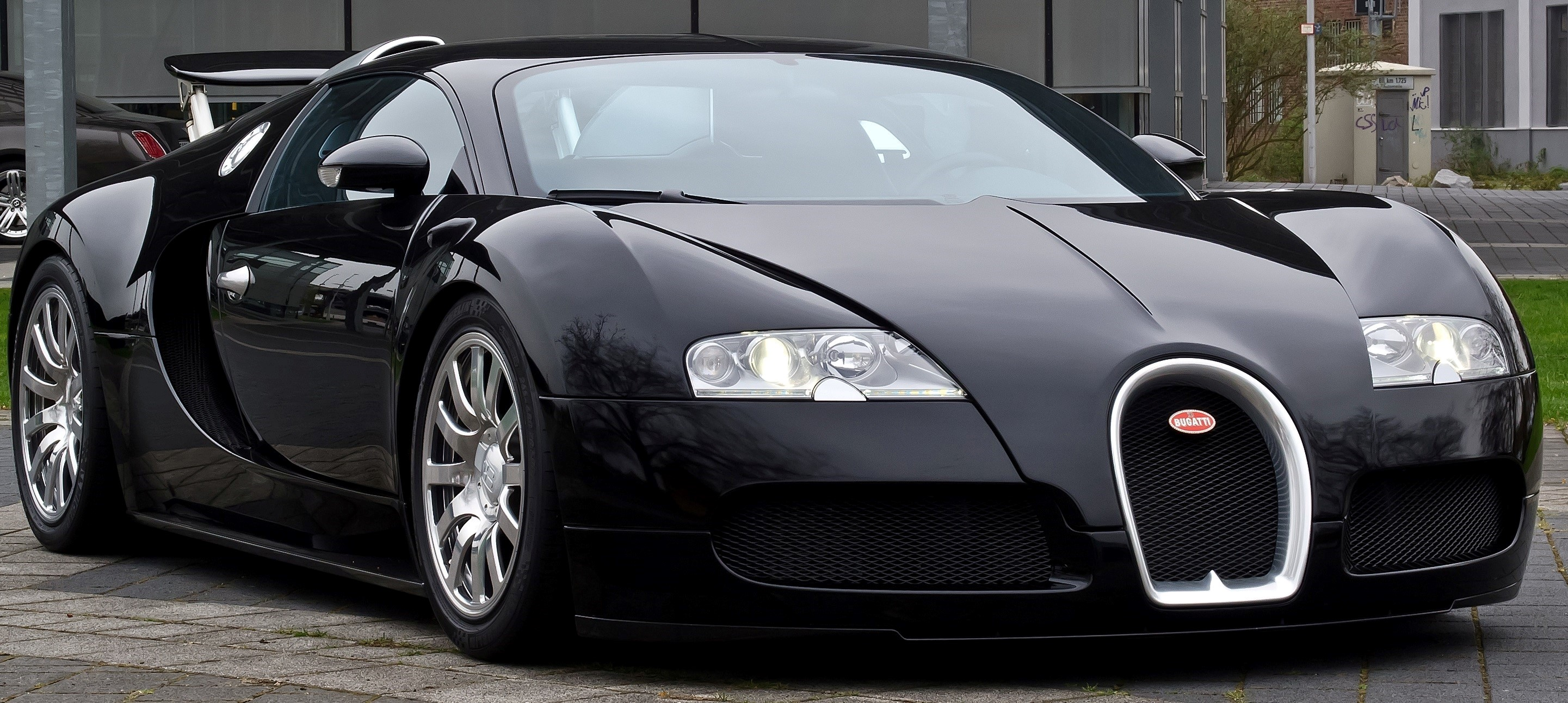 Download New Black Bugatti Veyron Hd Supperb Cars Wallpaper Hd