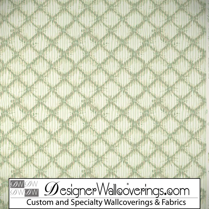 Tufted Trellis Lattice Wallpaper [PAL 42086] Designer Wallcoverings 720x720