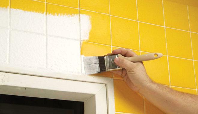 Can You Paint Tile Yellow Wall Tile Paint Vizimac 660x380