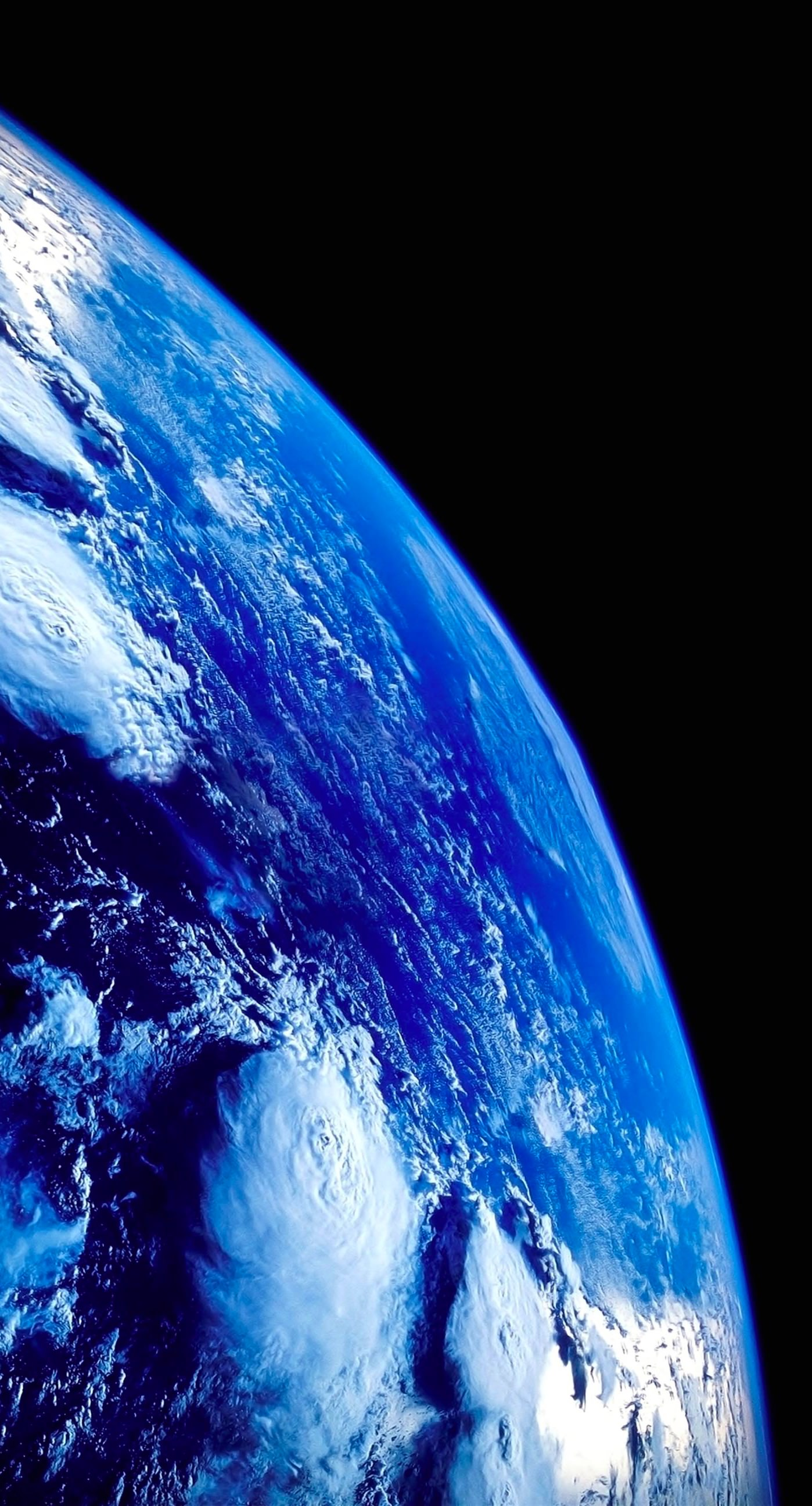 Earth Black Blue Cool wallpapersc iPhone7Plus 1398x2592